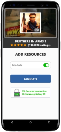 Brothers in Arms 3 MOD APK Screenshot