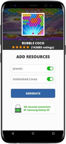 Bubble CoCo MOD APK Screenshot