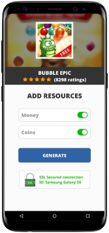 Bubble Epic MOD APK Screenshot
