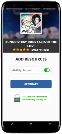 Bungo Stray Dogs Tales of the Lost MOD APK Screenshot