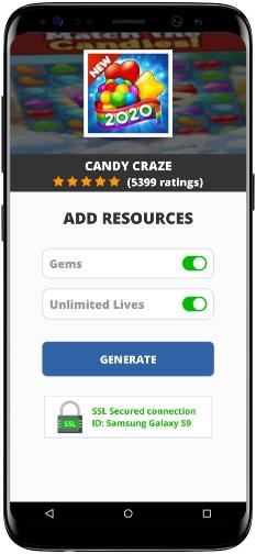 Candy Craze MOD APK Screenshot