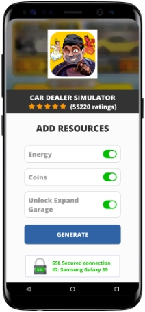 Car Dealer Simulator MOD APK Screenshot