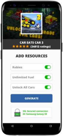 Car Eats Car 3 MOD APK Screenshot