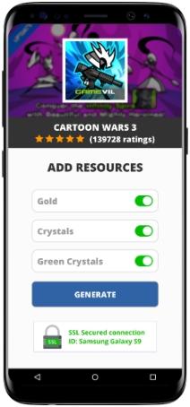 Cartoon Wars 3 MOD APK Screenshot