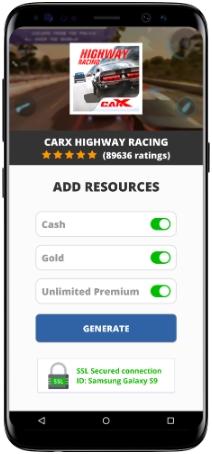 CarX Highway Racing MOD APK Screenshot