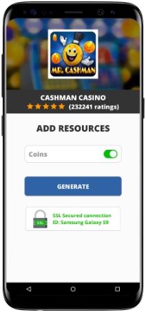 Cashman Casino MOD APK Screenshot