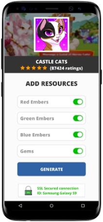 Castle Cats MOD APK Screenshot
