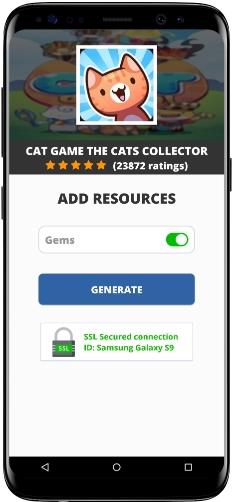 Cat Game The Cats Collector MOD APK Screenshot