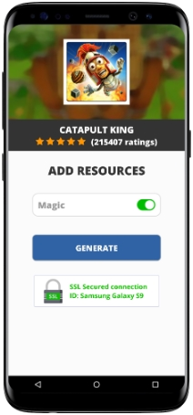 Catapult King MOD APK Screenshot