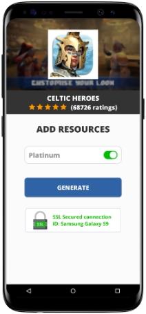 Celtic Heroes MOD APK Screenshot