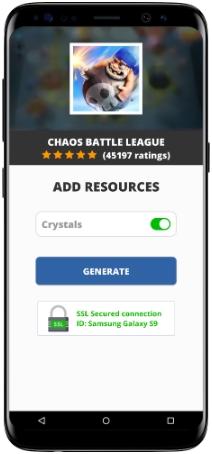 Chaos Battle League MOD APK Screenshot