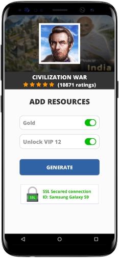 Civilization War MOD APK Screenshot