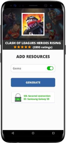 Clash of Leagues Heroes Rising MOD APK Screenshot