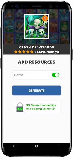 Clash of Wizards MOD APK Screenshot