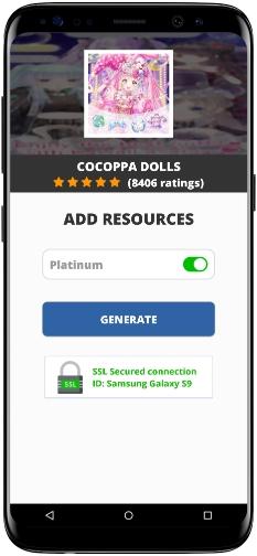 CocoPPa Dolls MOD APK Screenshot