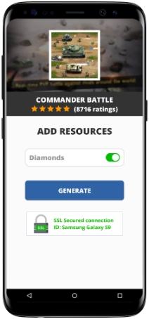 Commander Battle MOD APK Screenshot