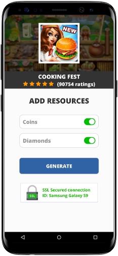 Cooking Fest MOD APK Screenshot