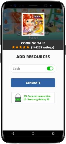 Cooking Tale MOD APK Screenshot