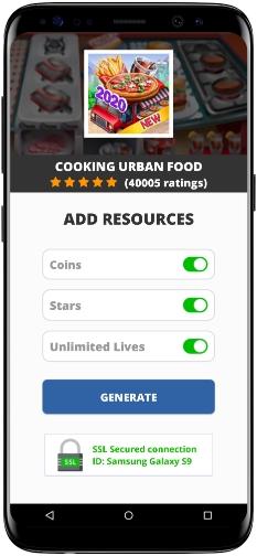 Cooking Urban Food MOD APK Screenshot