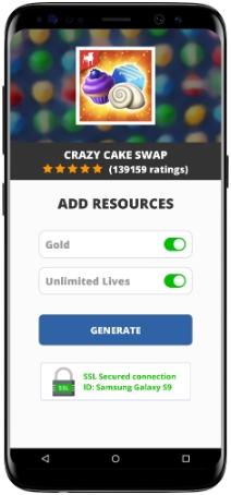 Crazy Cake Swap MOD APK Screenshot