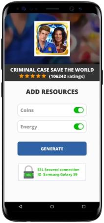 Criminal Case Save the World MOD APK Screenshot