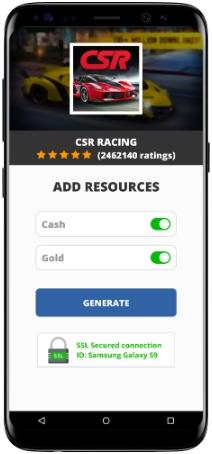 CSR Racing MOD APK Screenshot
