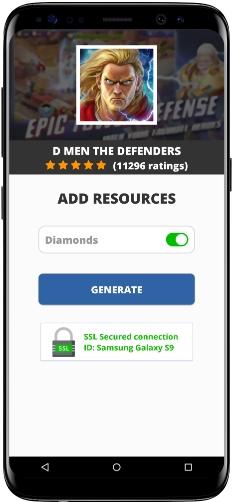 D MEN The Defenders MOD APK Screenshot