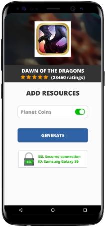 Dawn of the Dragons MOD APK Screenshot