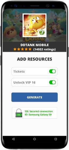 DDTank Mobile MOD APK Screenshot