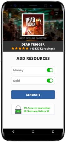 Dead Trigger Mod Apk Unlimited Money Gold