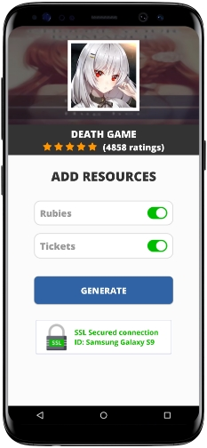 Death Game MOD APK Screenshot