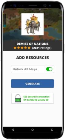 Demise of Nations MOD APK Screenshot