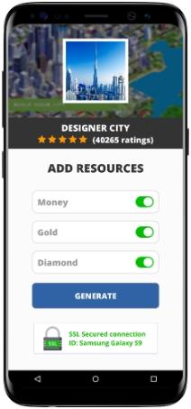 Designer City MOD APK Screenshot