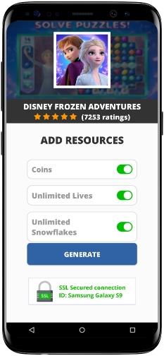 Disney Frozen Adventures MOD APK Screenshot