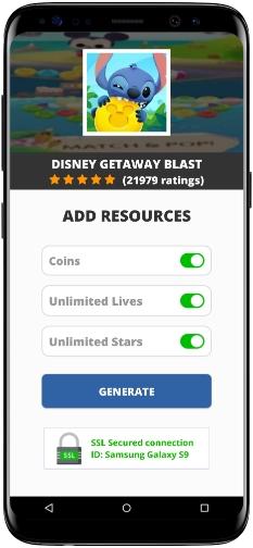 Disney Getaway Blast MOD APK Screenshot