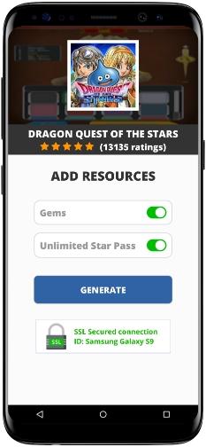 Dragon Quest of the Stars MOD APK Screenshot