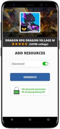 Dragon RPG Dragon Village M MOD APK Screenshot