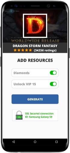 Dragon Storm Fantasy MOD APK Screenshot