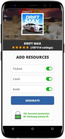 Drift Max MOD APK Screenshot