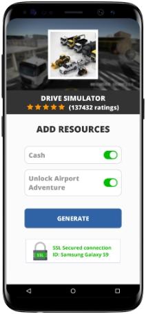 Drive Simulator MOD APK Screenshot