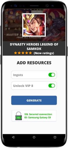 Dynasty Heroes Legend of SamKok MOD APK Screenshot