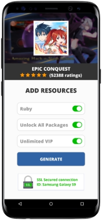 Epic Conquest MOD APK Screenshot