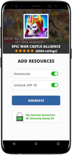 Epic War Castle Alliance MOD APK Screenshot
