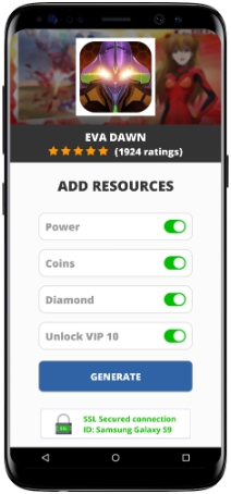 Eva Dawn MOD APK Screenshot