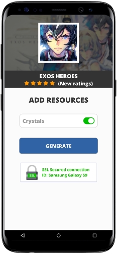 Exos Heroes MOD APK Screenshot