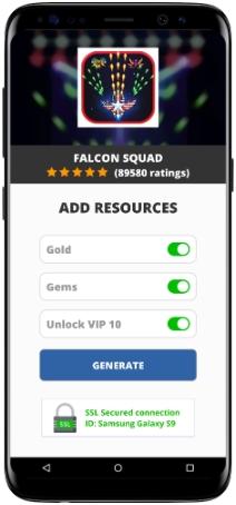 Falcon Squad MOD APK Screenshot