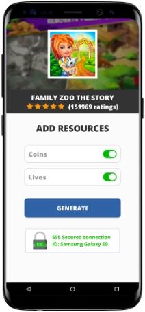 Family Zoo The Story MOD APK Screenshot