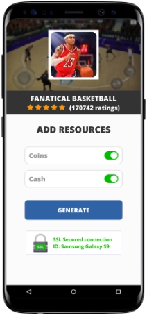 Fanatical Basketball MOD APK Screenshot