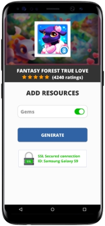 Fantasy Forest True Love MOD APK Screenshot