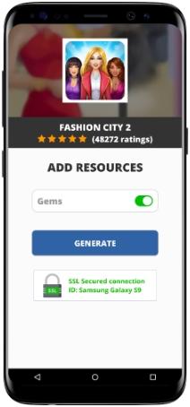 Fashion City 2 Mod Apk Unlimited Gems